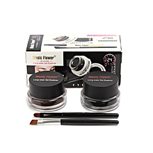 Eyeliner Gel Plus Brushes-Black and brown