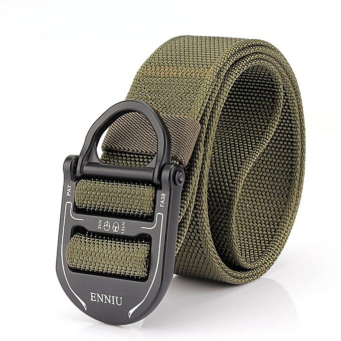 Adjustable Tactical Quick Release Tactical Belt Heavy Duty Waist Band  Camping Climbing Training Waist Belt Sport
