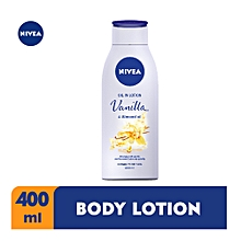 Vanilla & Almond Oil Lotion400ml
