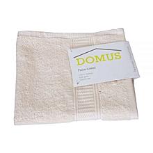 Face Towel - 400 GSM - 33cm x 33cm - Cream