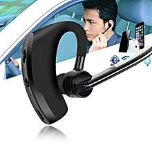 Headset Bluetooth Wireless 4.1 Handsfree Stereo HiFi Headset Earphone For IPhone-Black