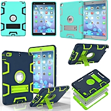 Apple iPad MINI 4 Case Full Body Shockproof Waterproof Dust-proof Hybrid Kickstand Protective Case with Screen Protector for iPad MINI 4 CHD-Z