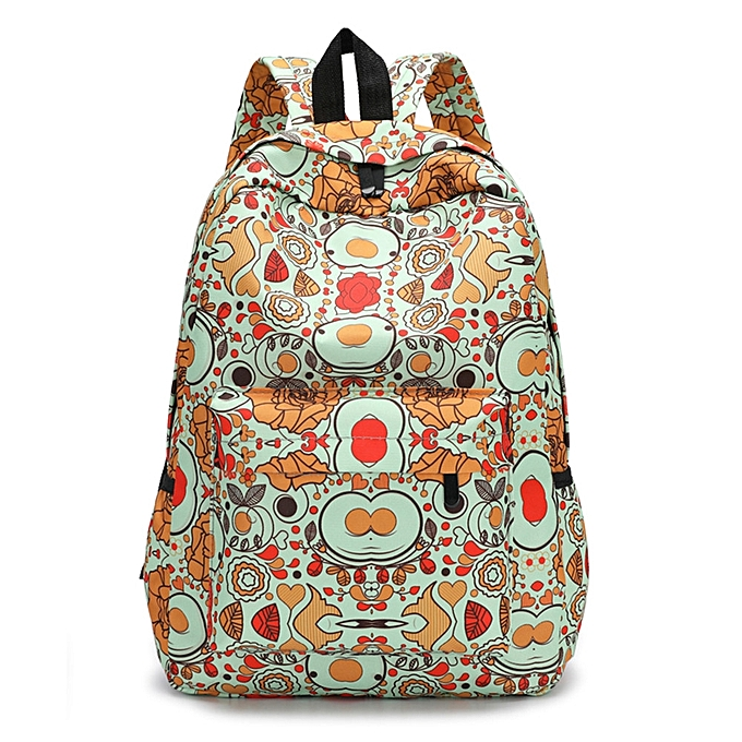 ... Tectores Fashion Trend Fresh Style Women Backpacks Floral Print  Bookbags Female Travel Backpack Gift ... 8e4f4e34944d8