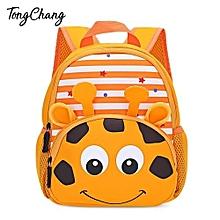 Kid 3D Cartoon Animal Zoo Print Backpack - 03#
