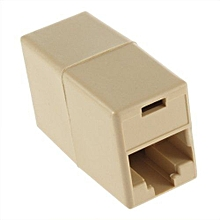 New RJ45 CAT 5 5E Ethernet Lan Cable Joiner Coupler Connector
