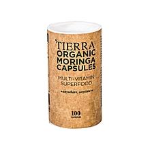 Tierra Organic Moringa Capsules - 100 Capsules