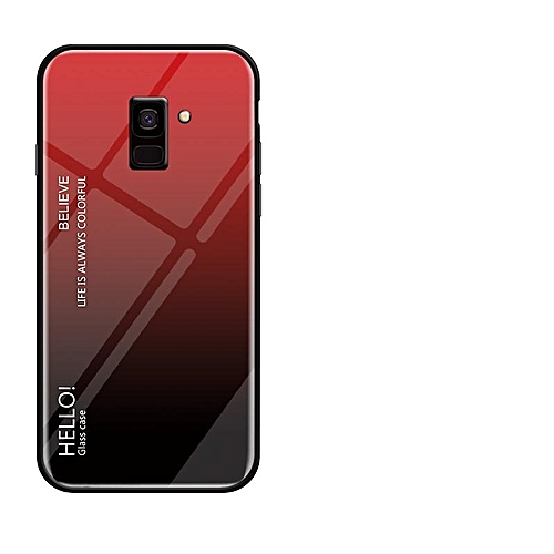 best cheap 76694 0c007 For Galaxy J6 2018 Case,Ultra Thin Slim Shockproof Protective TPU Bumper  Case + Hard Back Tempered Glass Grip Cover For Samsung Galaxy J6 2018  141119 ...