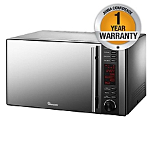 RM/326- 25LT Microwave+ Grill Glass - Black