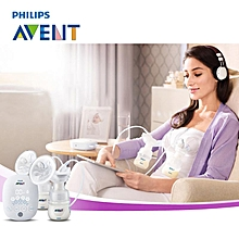 AVENT Automatic Double Electric Breast Pumps BPA Free Brand Breast Feeding Kits Powerful Large Suction Breast Pump Baby Feeding
