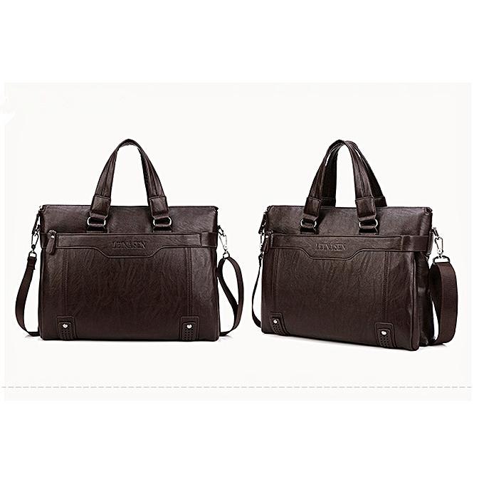 Buy Generic Men Handbags Fashion Business Men Briefcase Bag Pu