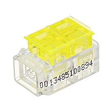 2Pin 1 Way Series Wire Connector Moisture-proof Terminal Block Electric Cable Wire Connector