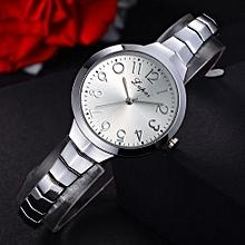 Fohting  Lvpai Women's Watch  Bracelet Stainless Steel Quartz Wrist Watch -Multicolor