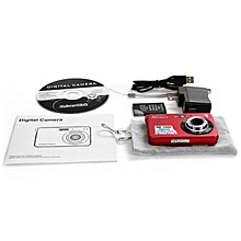 TA Ultra Thin AMK-CDC3 Digital Camera 5 Megapixel Portable HD Shooting Camera -red