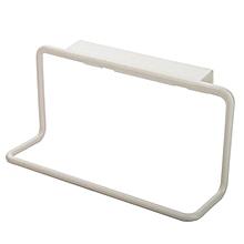 Towel Rack Hanging Holder Organizer Bathroom Kitchen Cabinet Cupboard Hanger WH-White