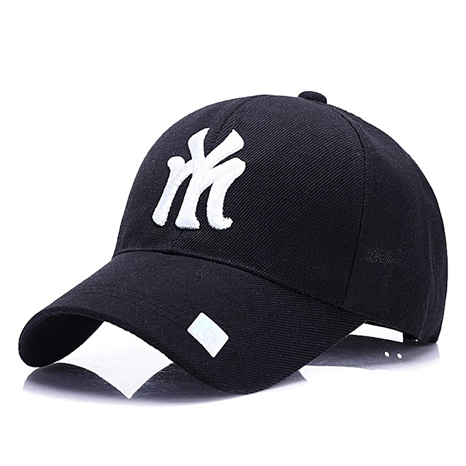 fe5da3ee7cea4 UJ Men Women Baseball Cap Outdoor Sports Sunshade Hat Unisex  Adjustable-Black