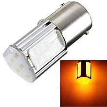 1156 BA15S 4 COB LED Yellow/Red Car Turn Signal Backup Rear Light Bulb Lamp 12V