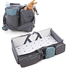 2 in 1 Multifunctional Baby Bag - Grey