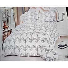 6pc Black and White Duvets, 6x6 Cotton