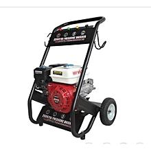 High-Pressure Car Wash Machine - Red & Black