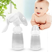 150ML Mummy Breastfeeding Milk Bottle Strong Suction Manual Breast Nursing Pump