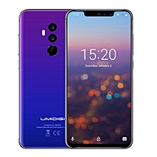 Z2, Special Edition, Global Dual 4G, 4GB+64GB, Dual Back Cameras + Dual Front Cameras, Face ID & Fingerprint Identification,  6.2 inch Sharp Android 8.1 MTK6763 (Helio P23)  Octa Core up to 2.0GHz, Network: 4G, Dual SIM (Fantastic Color)(Dream Blue)