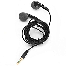 Free Shipping Awei ES10 In-ear Fashion Earphone For Iphone/samsung/htc Earphones With Microphone Black
