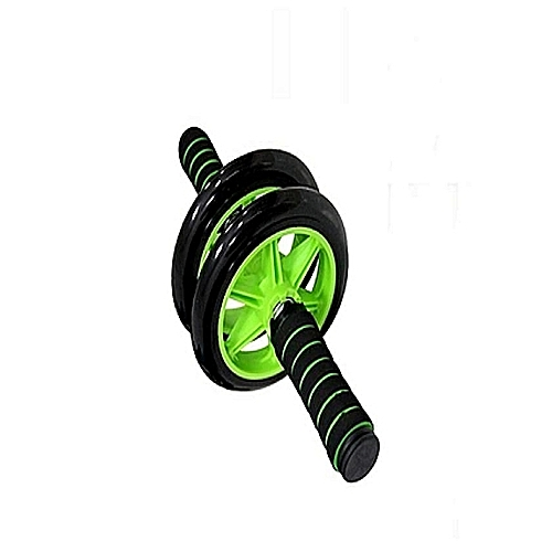 abs double wheel roller-black and green