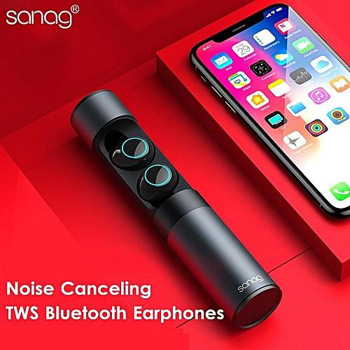 8876457efad Generic [Truly Wireless] Sanag J1 Adaptive Noise Canceling Pure ANC HiFi Bluetooth  Earphone With Charger Box