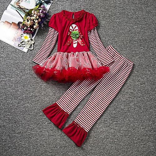 9926d02cea3dd Fashion School Kids t shirt Leggings Girls Boutique Clothing Set Christmas  Reindeer Hot Sale Girls Tops Baby Clothes Shirt Pants