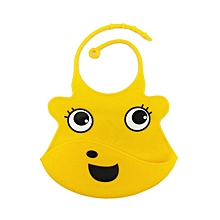 Cartoon Animal Kids Silicone Bib Baby Children Adjustable Waterproof Bib Baby Feeding Tools Crumb Catcher