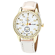 Watch Candy Color Male And Female Strap Wrist Watch WH