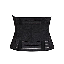 Slimming Tummy Control Belt Corset / Postpartum Girdle - Black