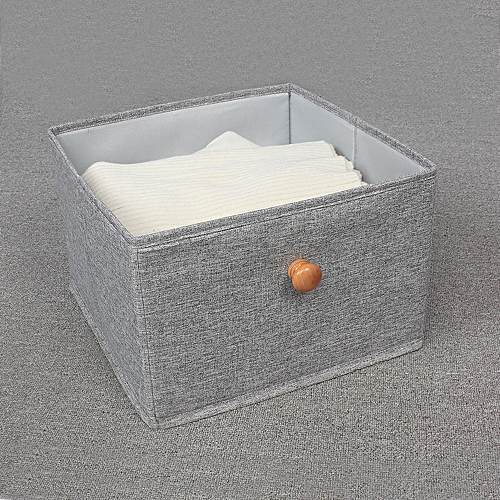 50050c6beadd Fabric Storage Box Closet Organizer Drawer Storage Cube Bins Basket Drawer  Container