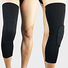 Sports Honeycomb Knee Pad Crashproof Basketball Leg Long Sleeve Protect Gear