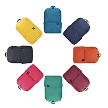 Xiaomi 10L Backpack Bag 8 Colors Level 4 Water Repellent 165g Weight YKK Zip Outdoor Chest
