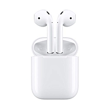 Apple AirPods Wireless Earphone Headphones Apple's Bluetooth Headphones For IPhone IPad Mac And Apple Watch WHITE