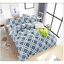 Duvet Cover 100% Cotton Blue Multicoloured