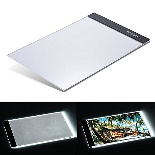 Art Sets 1pcs A4 Led Art Stencil Board Light Pad Tracing Drawing Table Board For Kids Artists With Cable