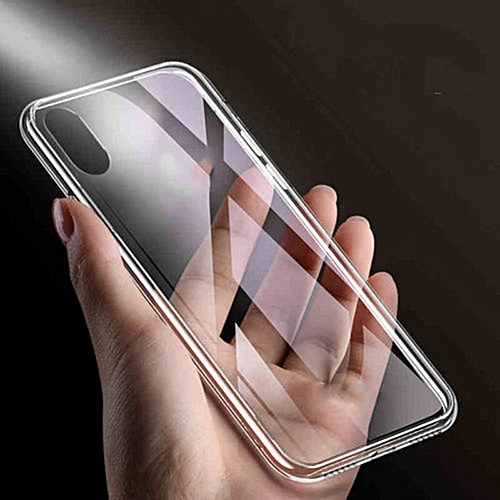 23c333845e1b Generic REAL GLASS Shockproof Case Hybrid Invisible Clear for iPhone XS Max  XR Transparent
