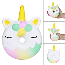 16cm Squishies Unicorn Doughnut Slow Rising Squeeze Scented Stress Reliever Toys