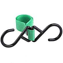 High Adhesion Solid Color Babies Stroller Household Hook - Green