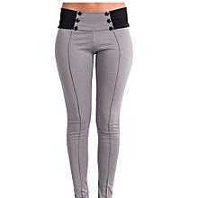 Hight Quality  Black Gray Gray Women Casual Stretch Skinny Leggings Pencil Pants Slim Trousers XXS-3XL