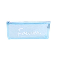 Transparent Pencil Case Cosmetic Bag Makeup Pouch  Pencils Box