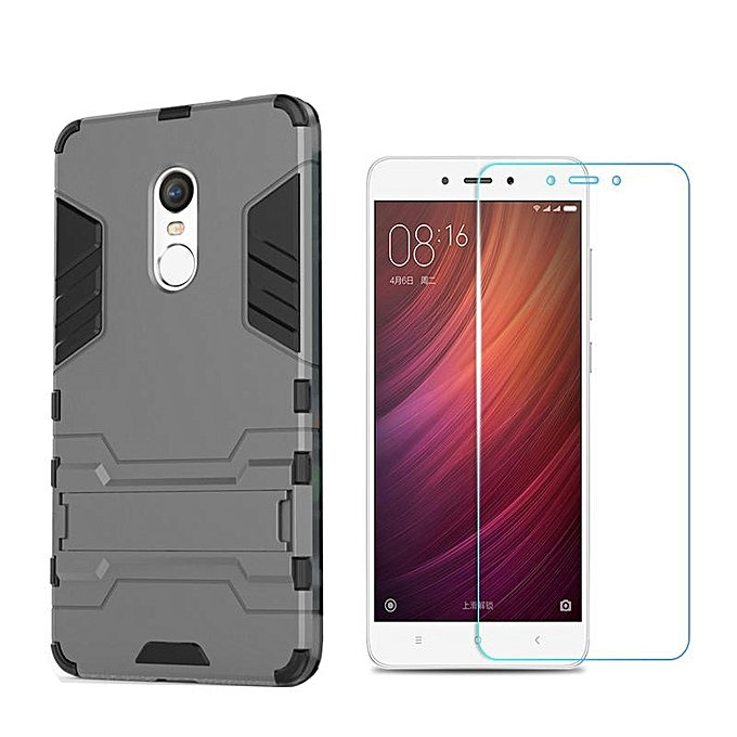Case For Xiaomi Redmi Note 4X Armour Hard Plastic + Soft Silicone/ TPU Phone Case
