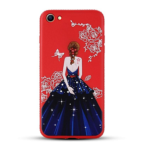 For Oppo A57 Unique Fashion Painted Soft Case Cover Goddess Painting Soft Phone .
