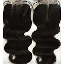 3way lace body wave closure