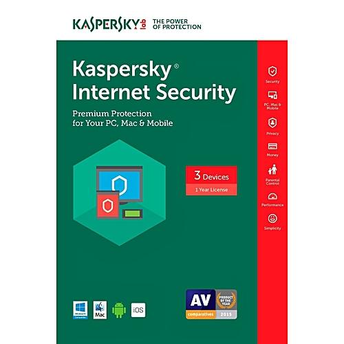 Kaspersky Internet Security - 3 User + 1 Free