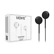 HS604 Hearing Aids Stereo Heavy Bass Headphones - Black
