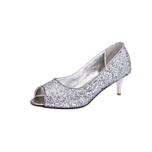 Pewter Women's Office Shoes