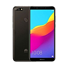 "Y7 Prime (2018) - 3GB Ram - 32GB Rom - 5.99"" Display - Android 8 - Face Unlock - Black"